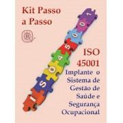 Kit ISO 45001 - Completo com todos os materiais