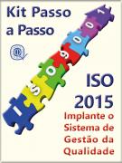Kit ISO 9001:2015 completo com todos os materiais