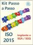 Kit ISO 9001 + 14001 completo com todos os materiais das duas normas