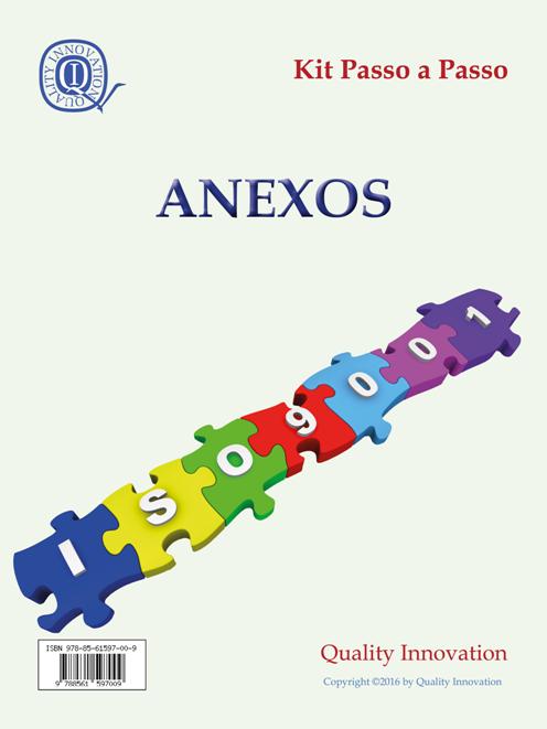 Anexos para Implantação da ISO 9001:2015  - www.qualistore.net.br