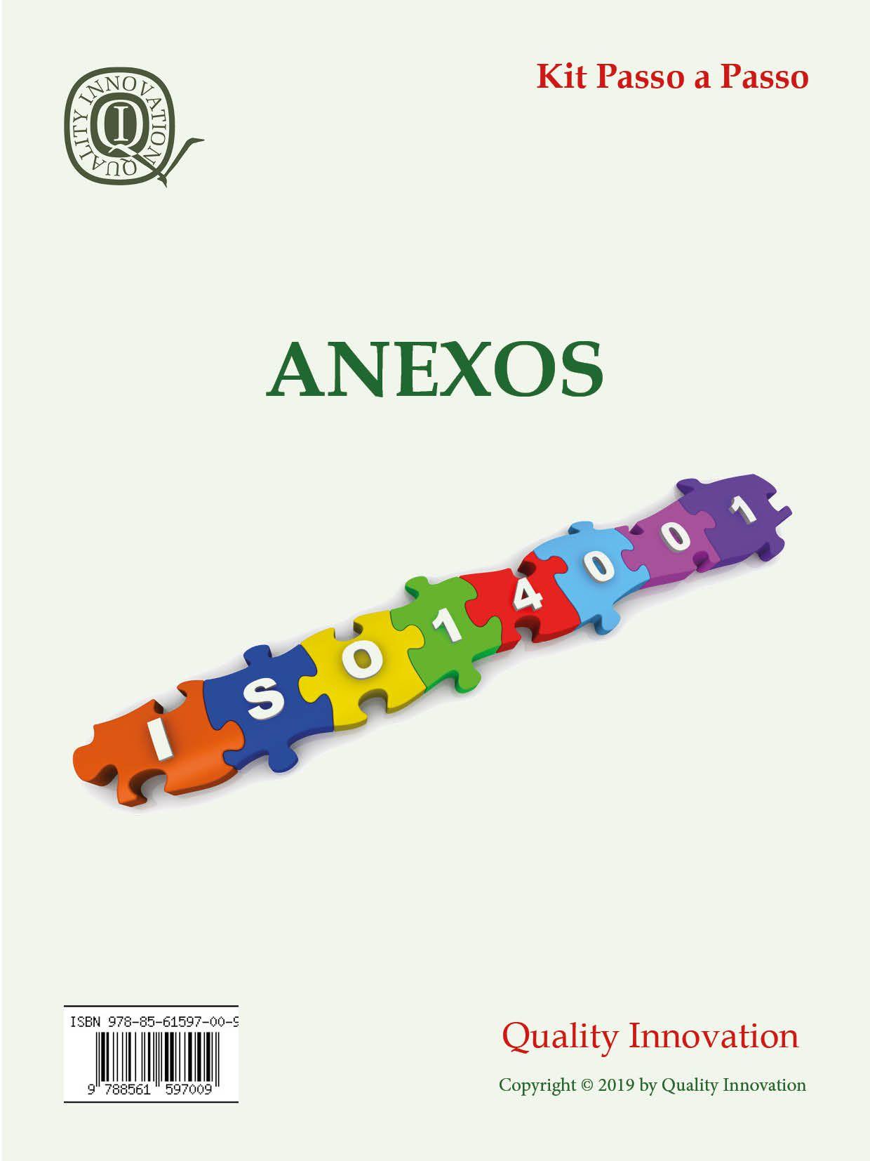 Anexos para Implantação da ISO 14001  - www.qualistore.net.br