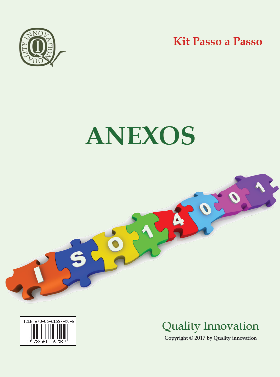 Anexos para Implantação da ISO 14001:2015  - www.qualistore.net.br