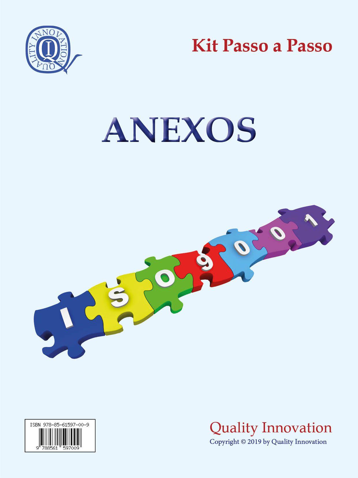 Anexos para Implantação da ISO 9001  - www.qualistore.net.br