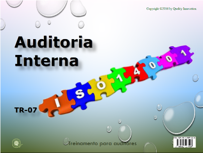 Auditoria Interna para a ISO 14001  - www.qualistore.net.br