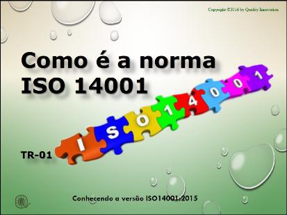 Como é a norma ISO 14001  - www.qualistore.net.br