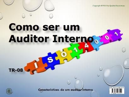 Como ser um Auditor Interno da ISO 14001  - www.qualistore.net.br