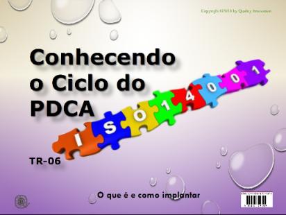 Conhecendo o Ciclo do PDCA para a ISO 14001  - www.qualistore.net.br