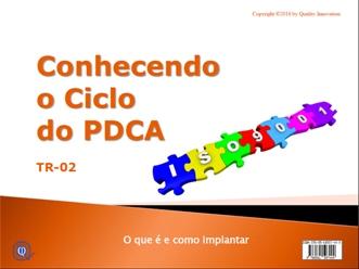 Conhecendo o Ciclo do PDCA para a ISO 9001  - www.qualistore.net.br
