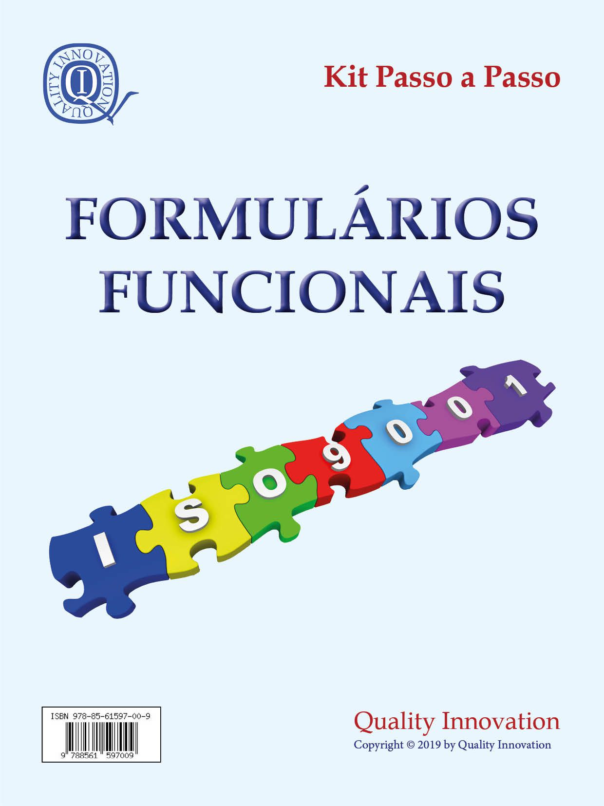 Formulários Funcionais da norma ISO 9001  - www.qualistore.net.br