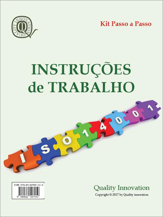 Instruções de Trabalho para a ISO 14001:2015  - www.qualistore.net.br