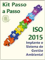 Kit  ISO 14001:2015 completo com todos os materiais  - www.qualistore.net.br