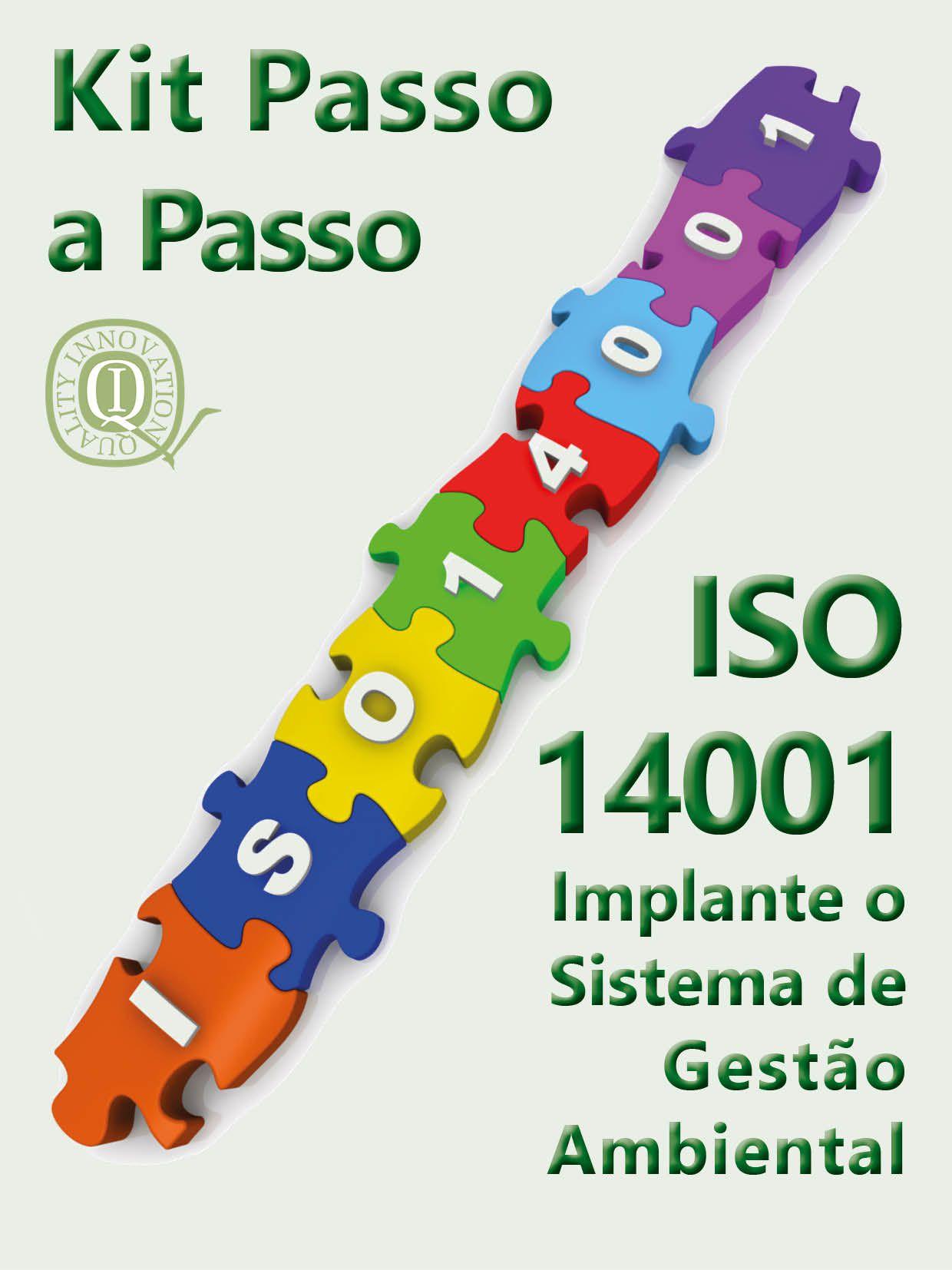 Kit  ISO 14001-  Completo com todos os materiais  - www.qualistore.net.br