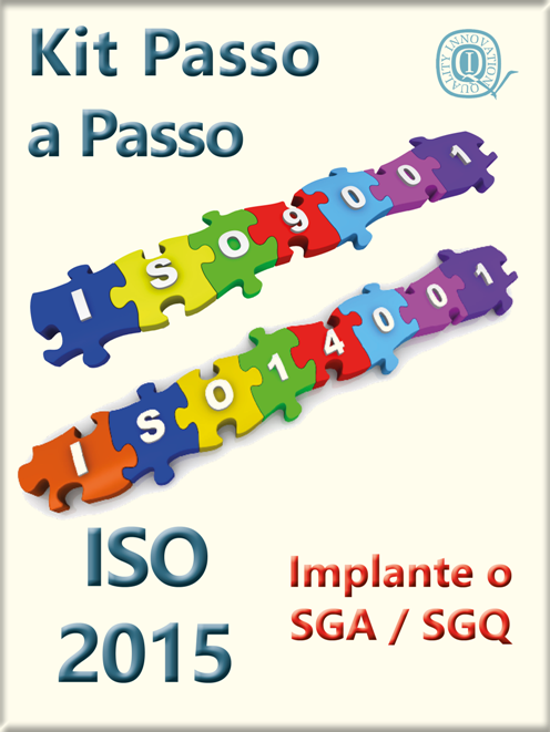 Kit ISO 9001 + 14001 completo com todos os materiais das duas normas  - www.qualistore.net.br
