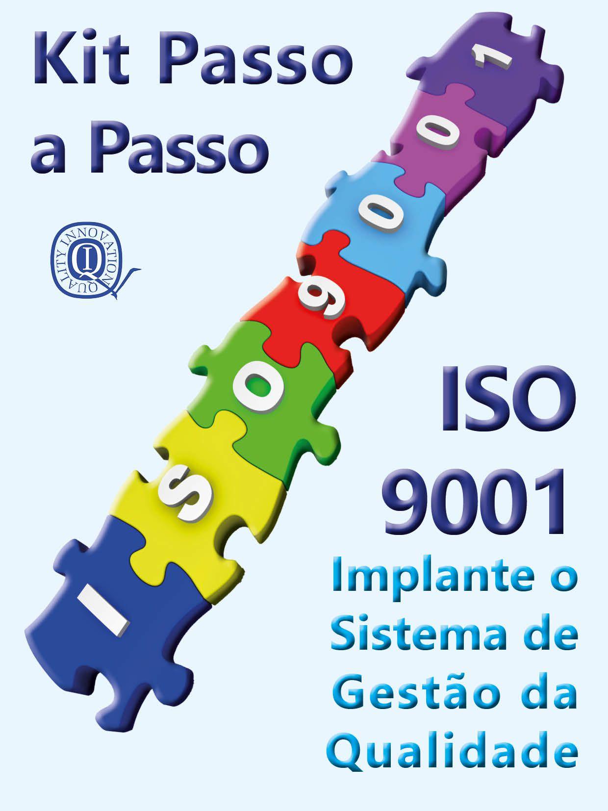 Kit ISO 9001 - Completo com todos os materiais  - www.qualistore.net.br
