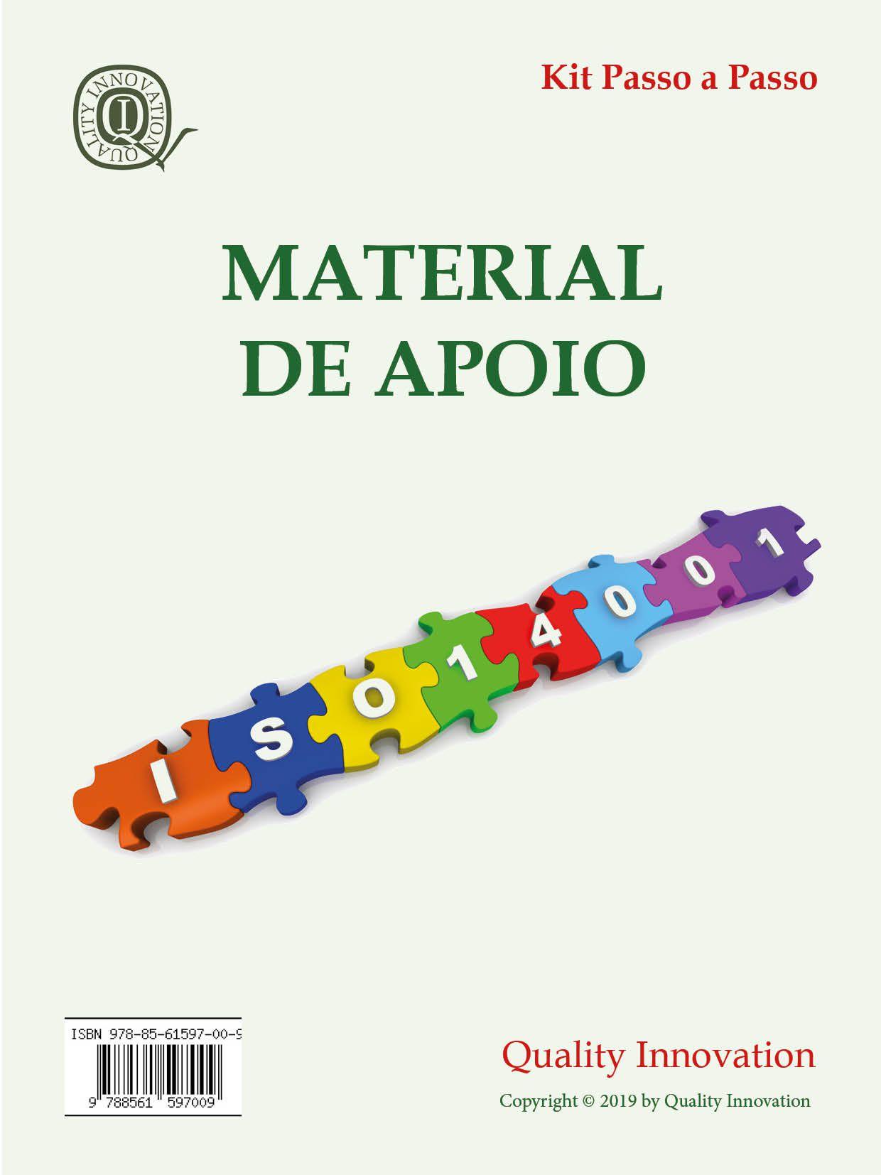 Material de Apoio da ISO 14001  - www.qualistore.net.br