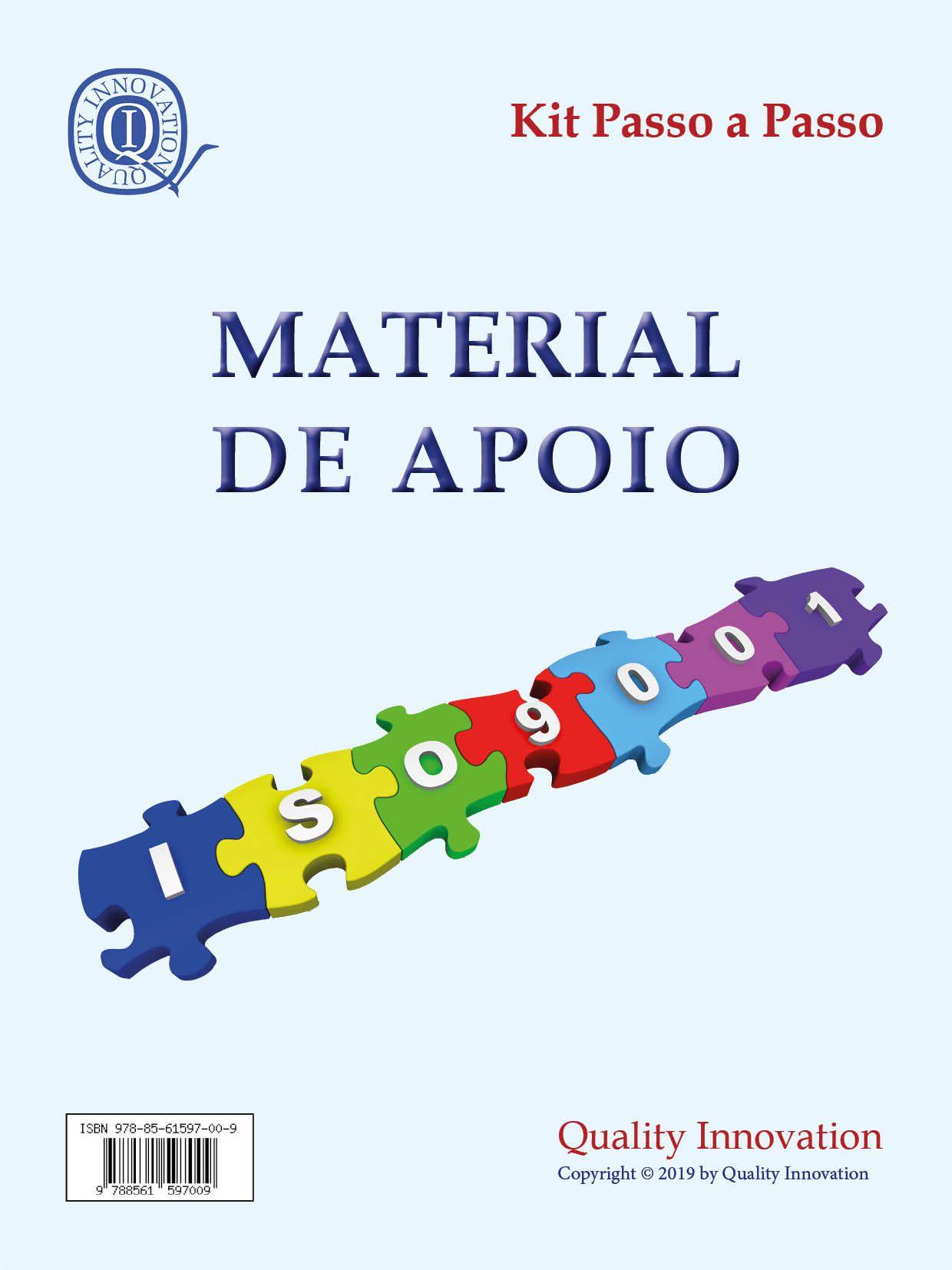 Material de Apoio da ISO 9001  - www.qualistore.net.br