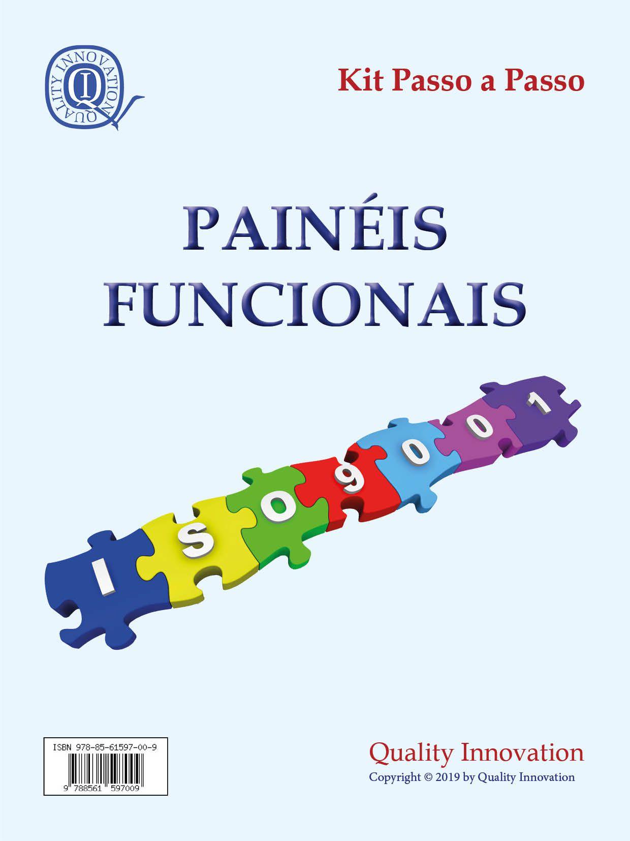 Painéis Funcionais da ISO 9001  - www.qualistore.net.br
