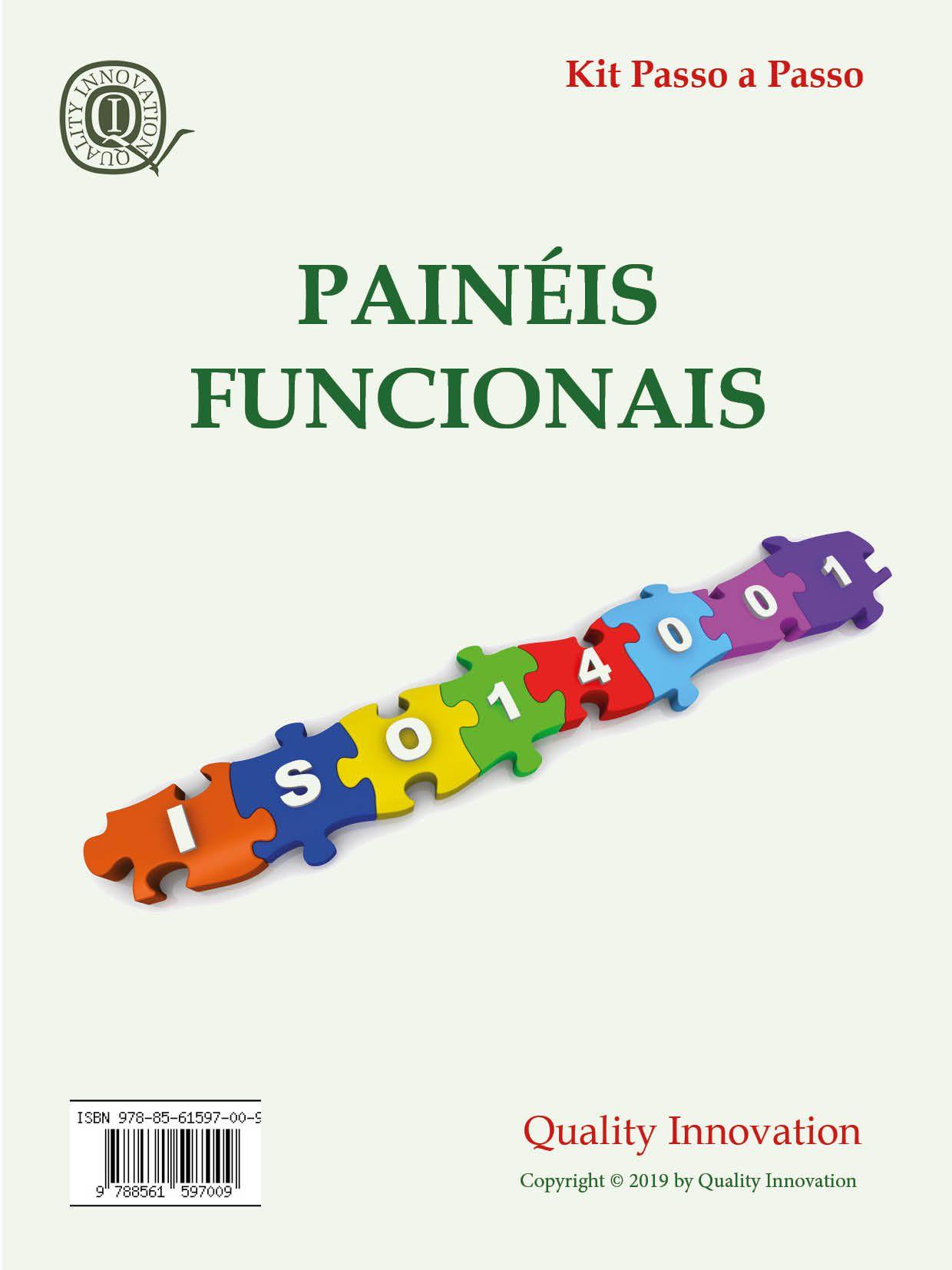 Painéis Funcionais da norma ISO 14001  - www.qualistore.net.br