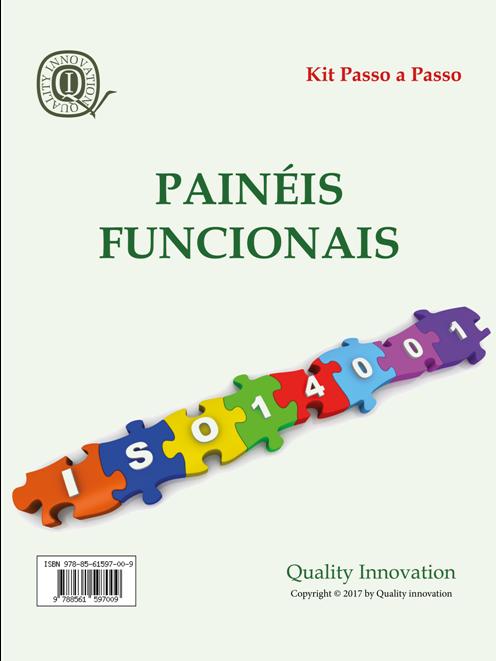 Painéis Funcionais da norma ISO 14001:2015  - www.qualistore.net.br