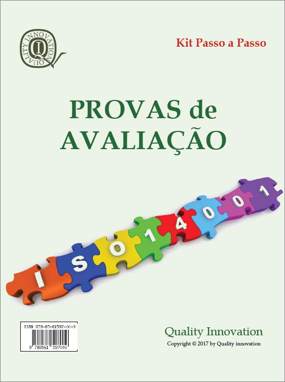 Provas de Avaliação da ISO 14001:2015  - www.qualistore.net.br