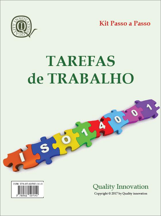 Tarefas de Trabalho da ISO 14001:2015  - www.qualistore.net.br