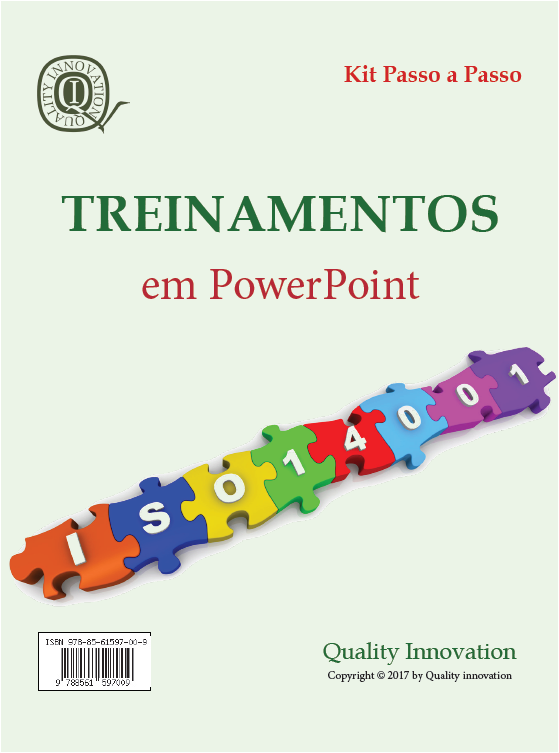 Treinamentos para um SGA - ISO 14001;2015  - www.qualistore.net.br