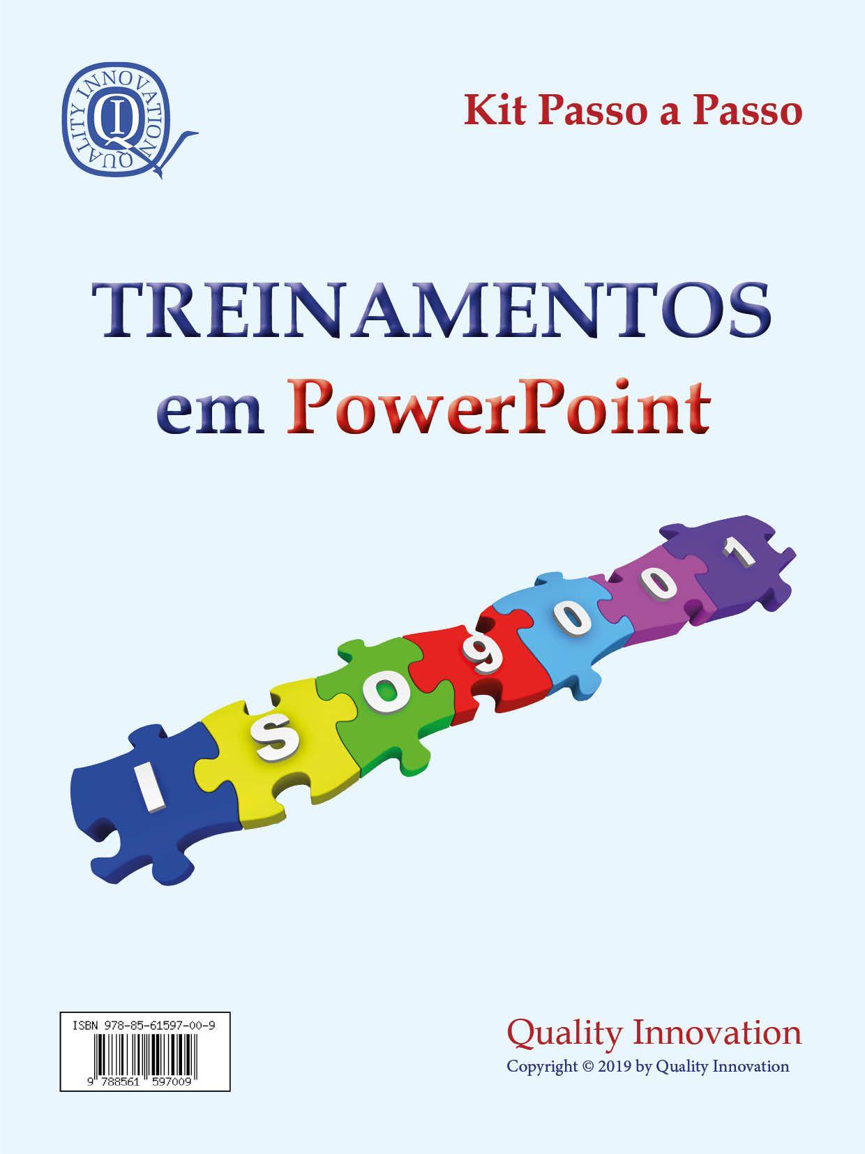 Treinamentos para um SGQ - ISO 9001  - www.qualistore.net.br