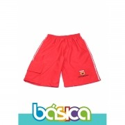 Bermuda de Microfibra Uniforme Maple Bear Fundamental