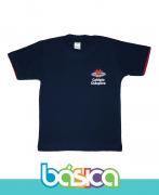 Camiseta Manga Curta Az. Marinho - Colégio Diáspora
