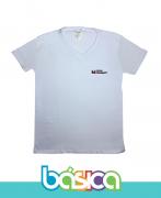 Camiseta Manga Curta Gola 'V' Oshiman