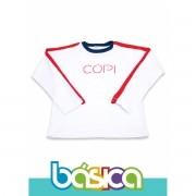 Camiseta Manga Longa Colégio COPI
