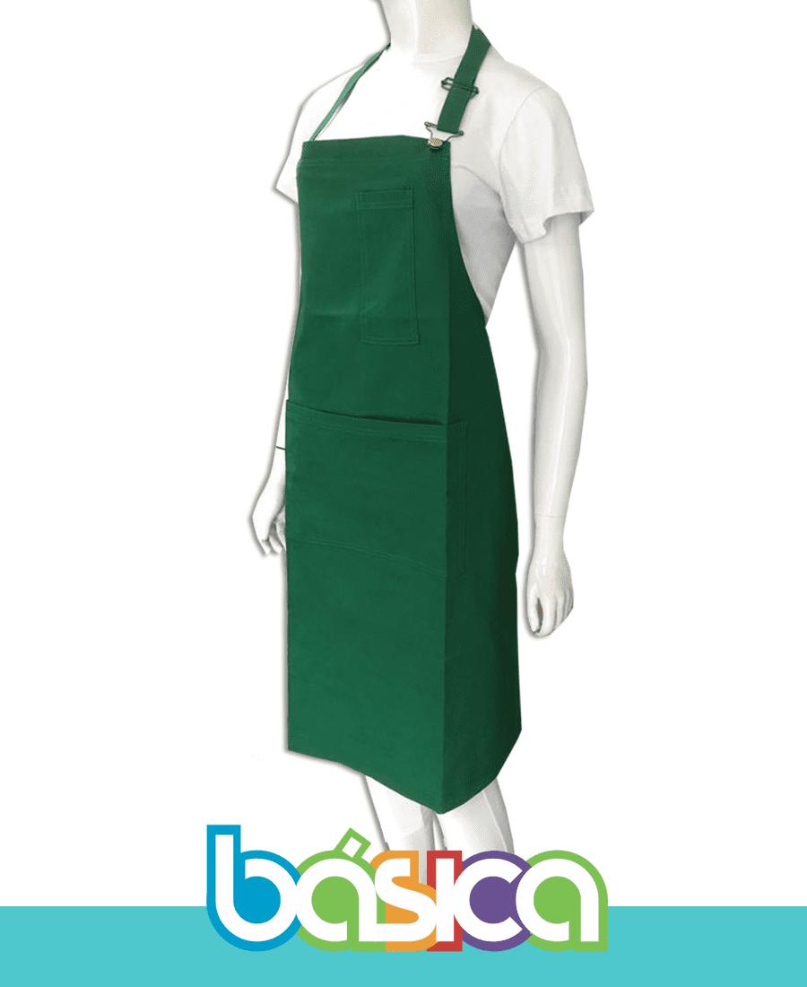 Avental de Cozinha Brim  - BÁSICA UNIFORMES