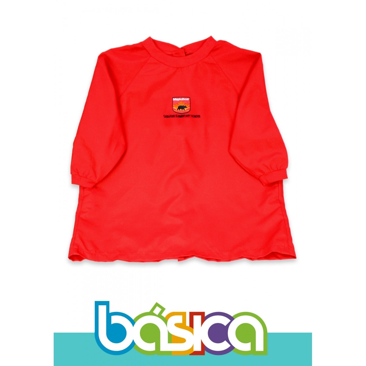 Avental Uniforme Maple Bear Fundamental  - BÁSICA UNIFORMES