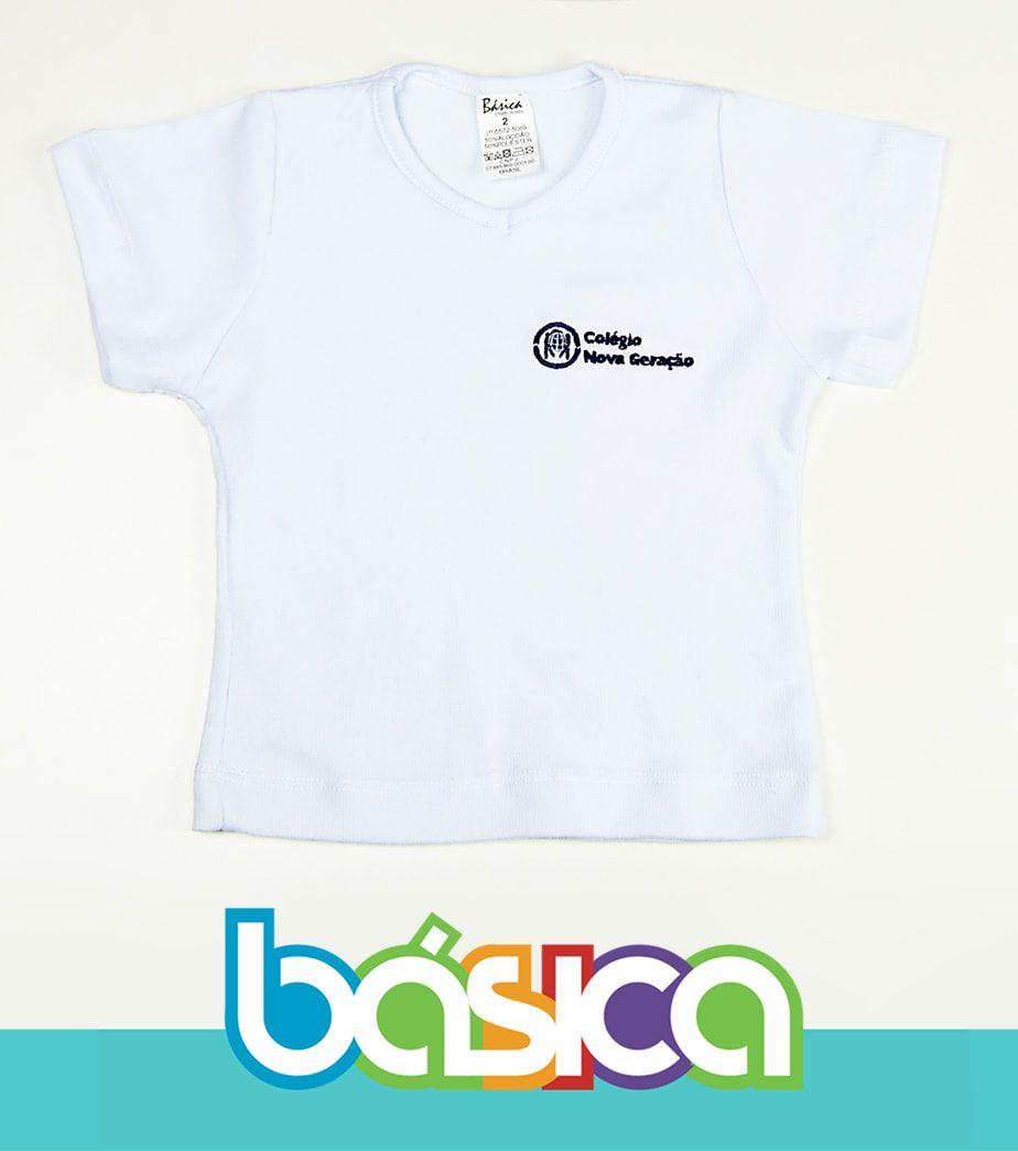 Baby Look Canelada Nova Geração  - BÁSICA UNIFORMES