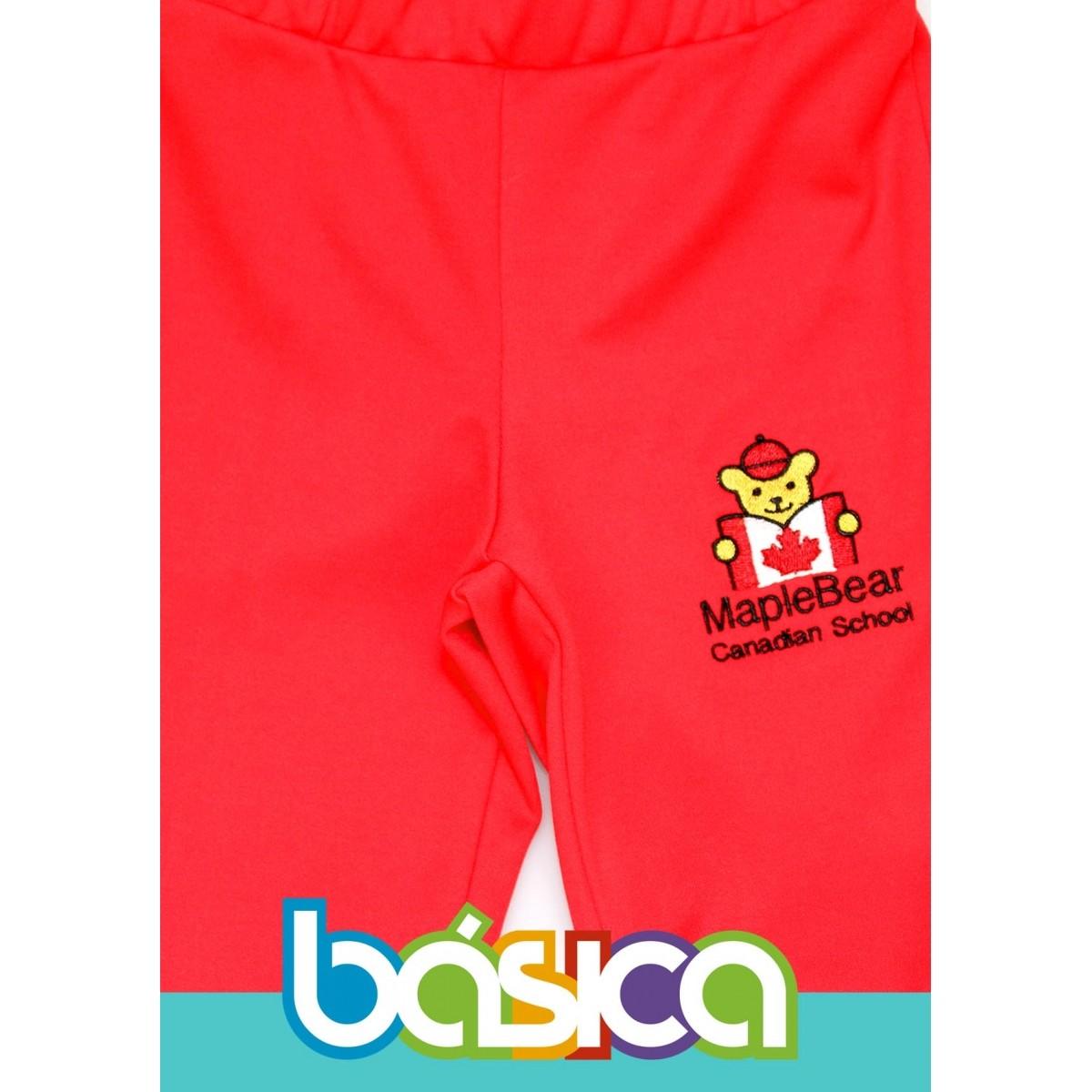 Calça Bailarina Helanca Maple Bear Infantil  - BÁSICA UNIFORMES
