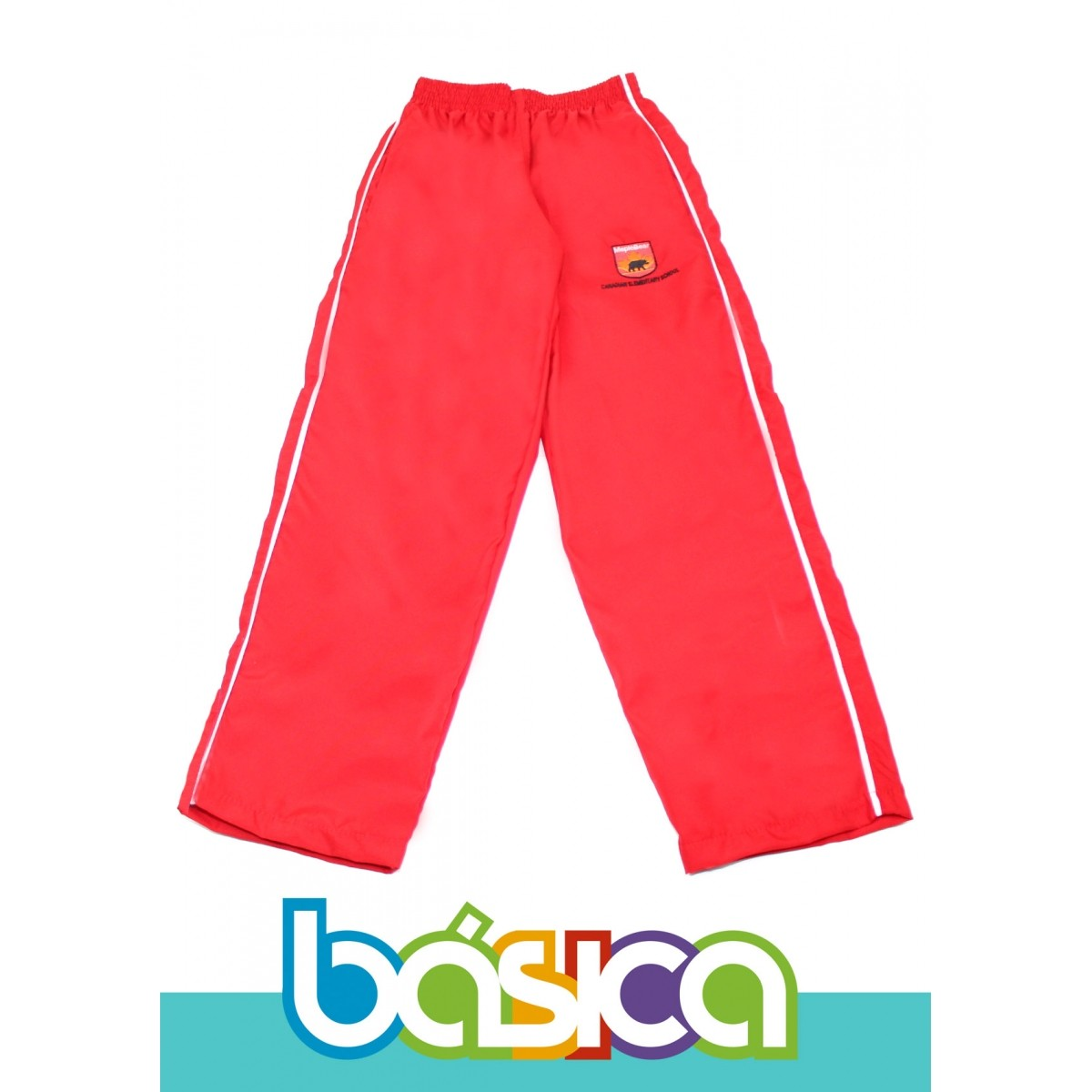 Calça de Microfibra Sem Forro Maple Bear Fundamental  - BÁSICA UNIFORMES