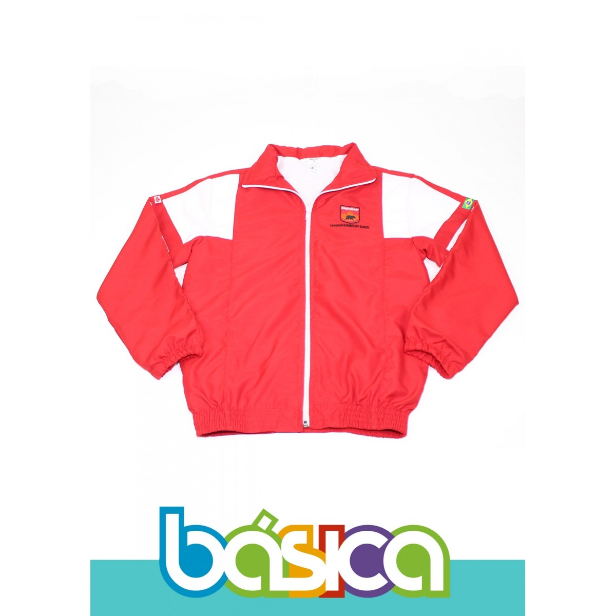 Blusão de Microfibra Uniforme Maple Bear Fundamental  - BÁSICA UNIFORMES