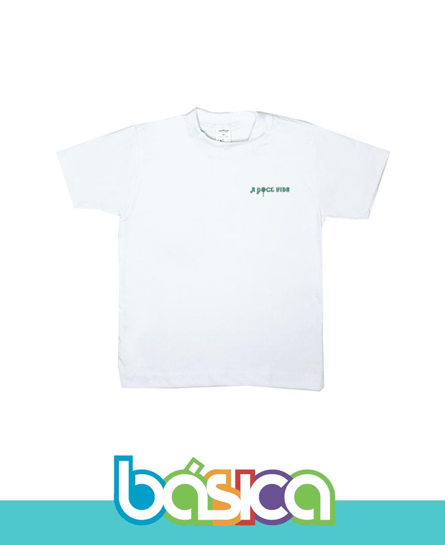 Camiseta Manga Curta A Doce Vida  - BÁSICA UNIFORMES