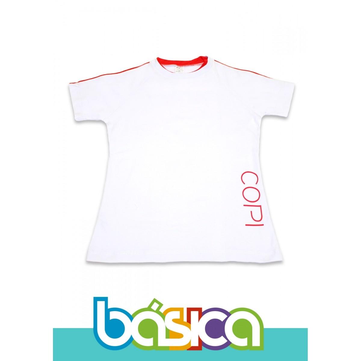 Camiseta Manga Curta Colégio COPI  - BÁSICA UNIFORMES