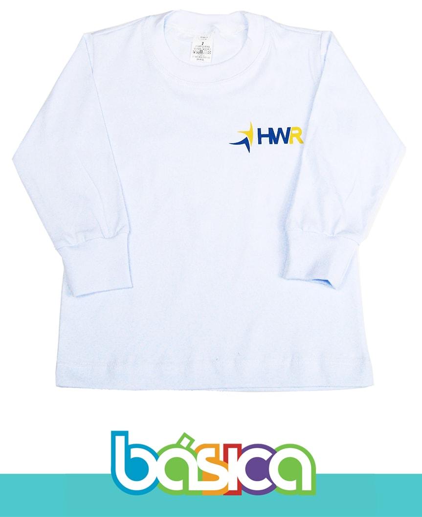 Camiseta Manga Longa Henri Wallon  - BÁSICA UNIFORMES