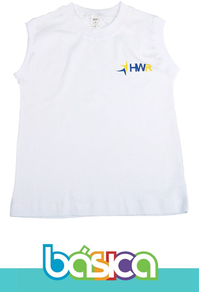 Camiseta Regata Henri Wallon  - BÁSICA UNIFORMES