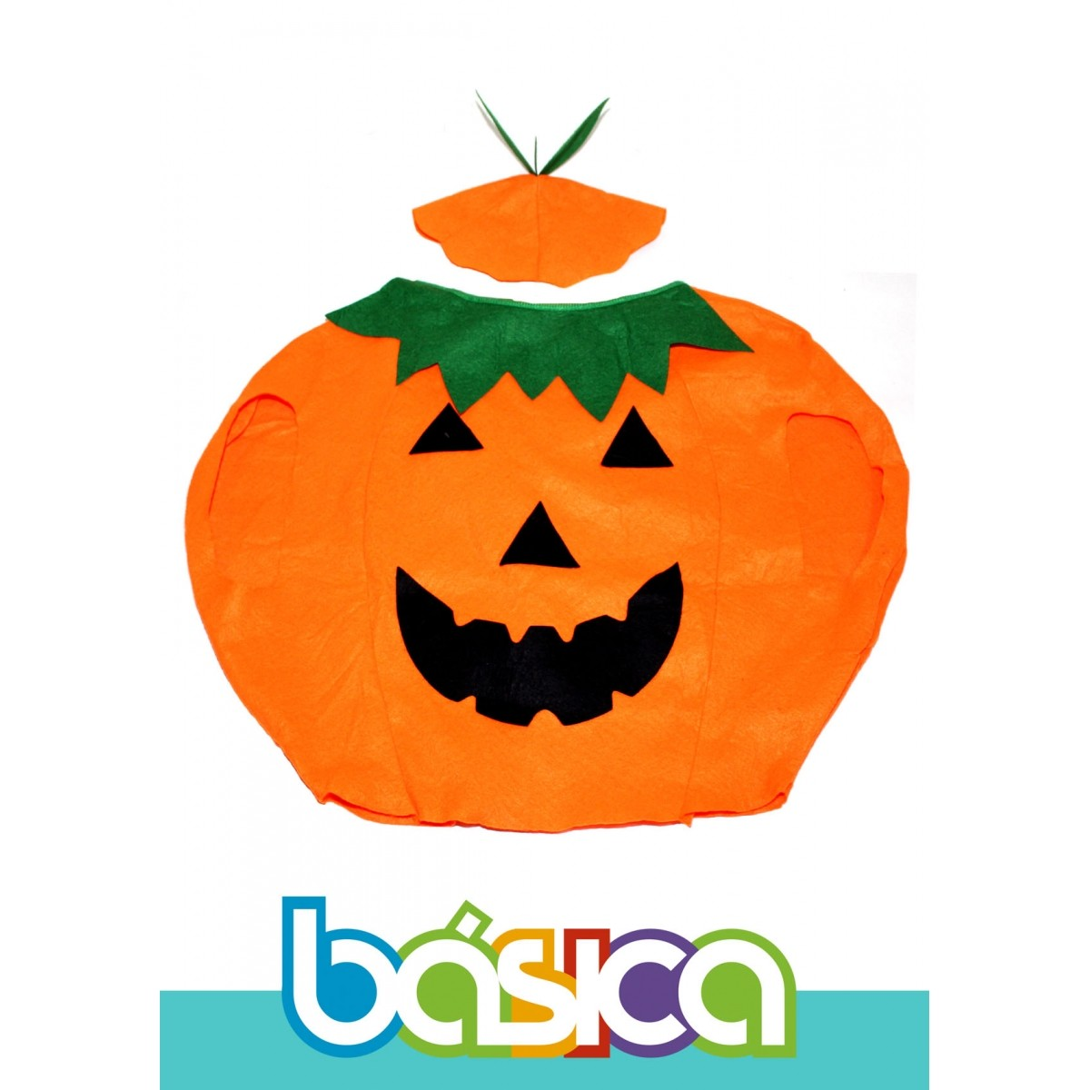 Fantasia de Abóbora Infantil  - BÁSICA UNIFORMES