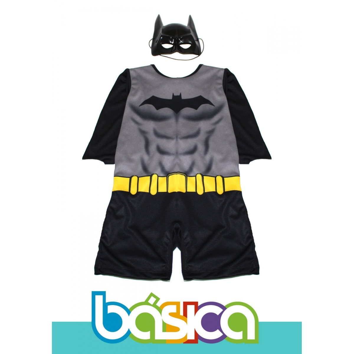 Fantasia do Batman Infantil  - BÁSICA UNIFORMES