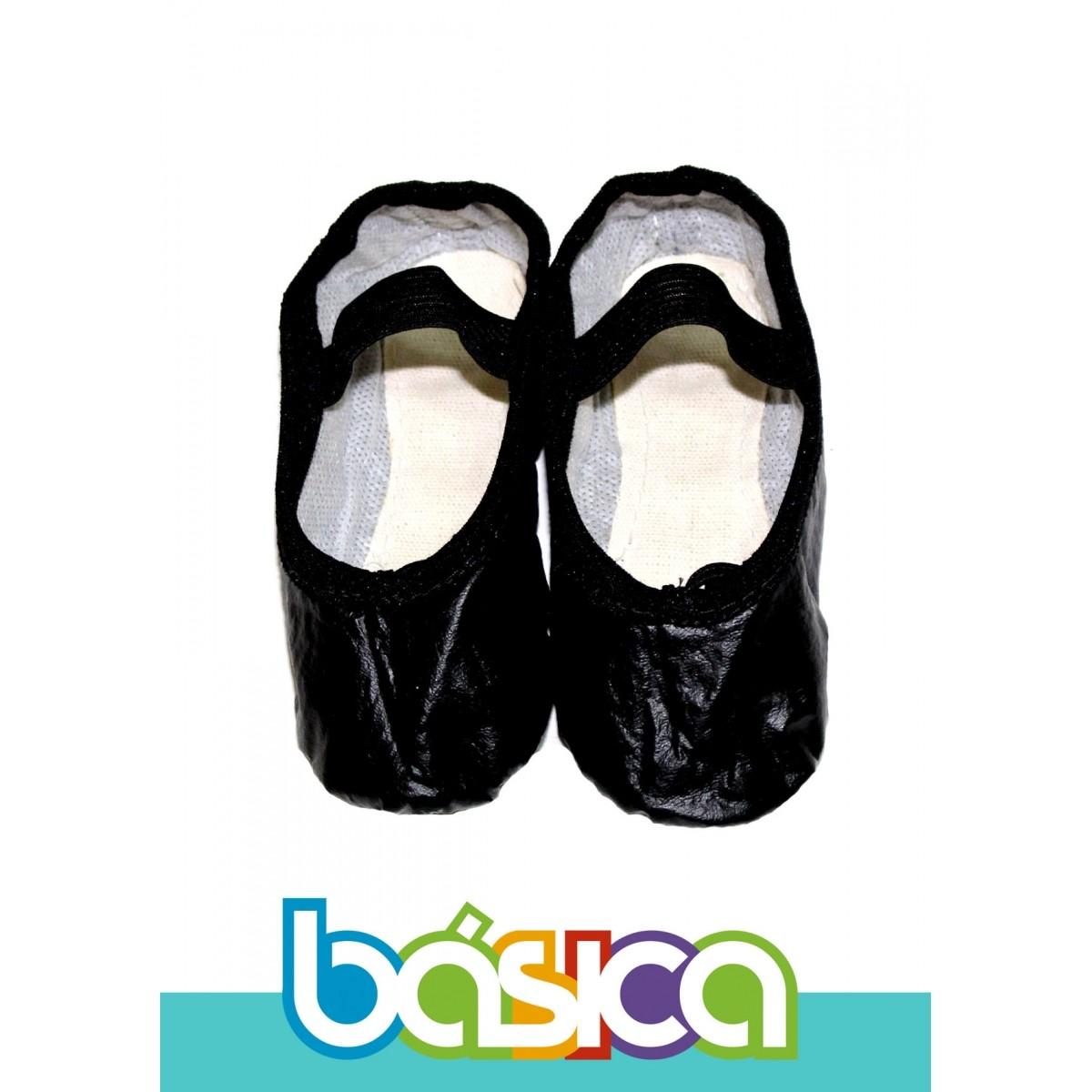 Sapatilha Para Ballet Preta Sintético  - BÁSICA UNIFORMES