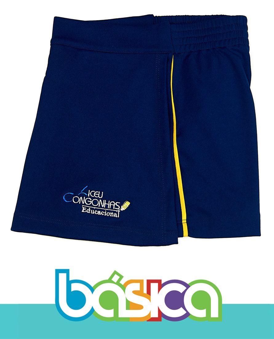 Shorts Saia Liceu Congonhas  - BÁSICA UNIFORMES