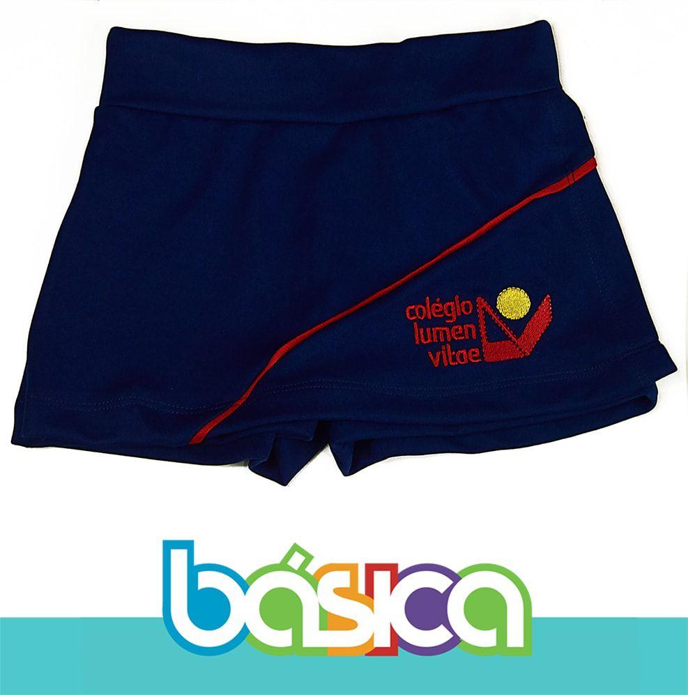 Shorts Saia Lumen Vitae  - BÁSICA UNIFORMES