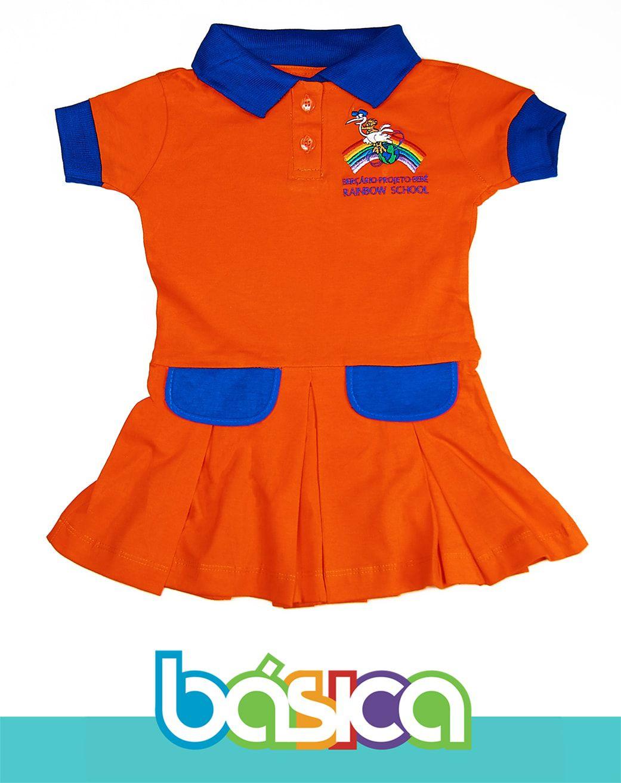 Vestido Rainbow School  - BÁSICA UNIFORMES