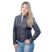 Jaqueta Feminina em Couro 211 Ranger Marinho