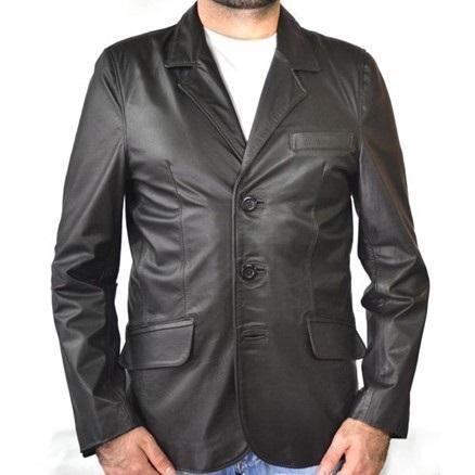 Casaco Masculino 900 Estilo Blazer Vest Preto