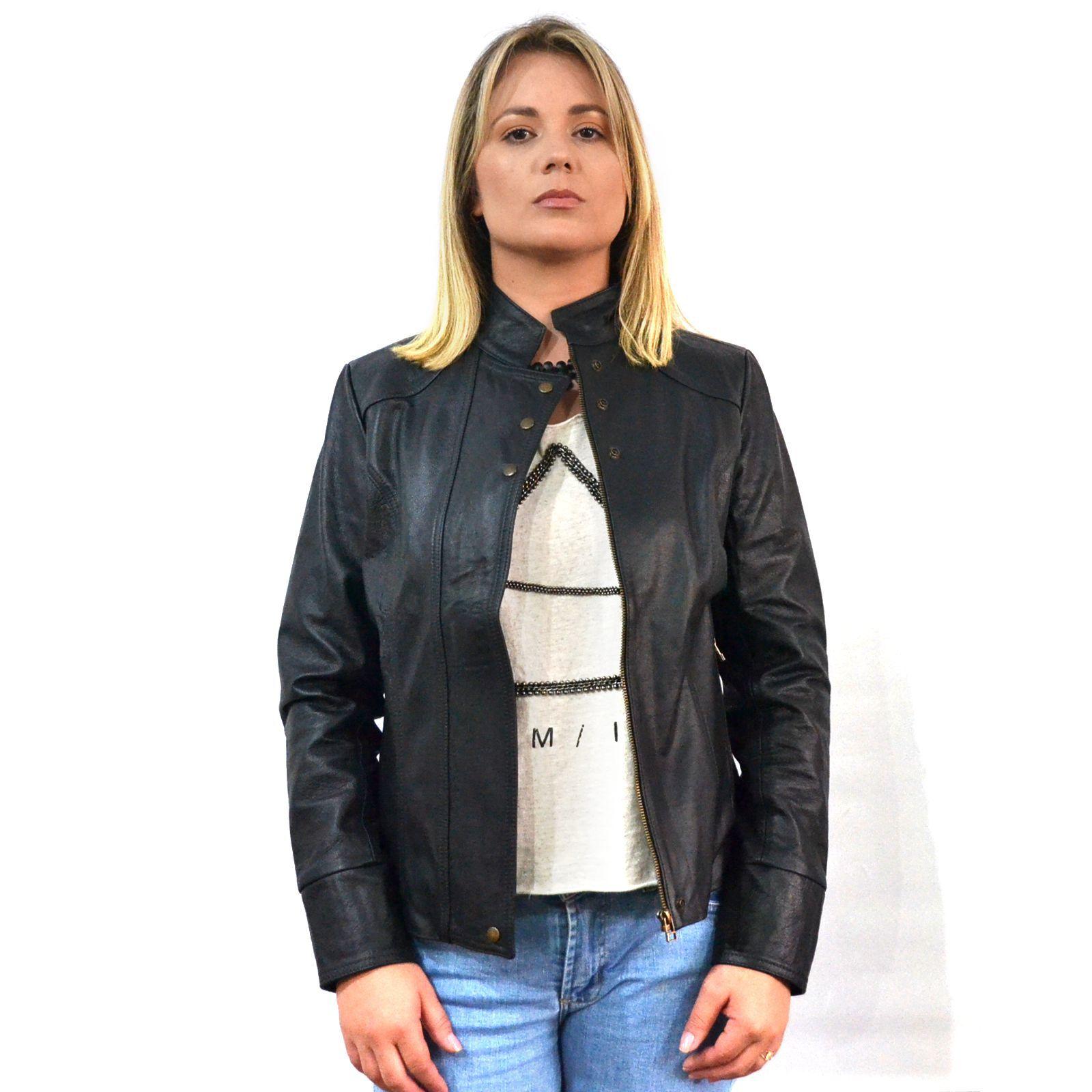 Jaqueta Feminina 2019  Preta
